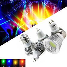 Dimmable LED Spotlight COB Bulbs 12V MR16 GU10 E27 B22 E12 6W 9W 12W Lamps RC778