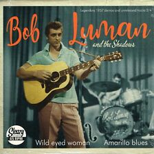 BOB LUMAN - WILD EYED WOMAN / AMARILLO BLUES (1950s Rockabilly Bops) Pic Cover.