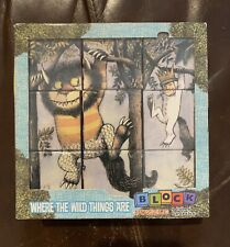 Where the Wild Things Are  RARE 6 Puzzles In One/ Block Puzzle