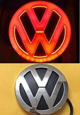 4D LED Car Tail Logo Red Light for Volkswagen VW CC Bora Golf Auto Badge Light