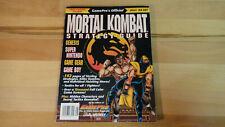 Gamepro MORTAL KOMBAT Official Strategy Guide SNES Genesis Game Boy