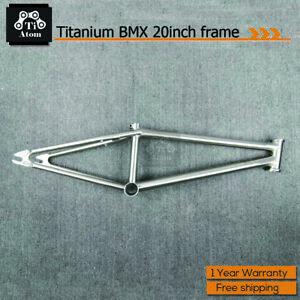 TiAtom/Titanium BMX Frame Bike 20inch