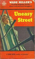UNEASY STREET Wade Miller - Novel - MAX THURSDAY HARD BOILED DETECTIVE MYSTERY