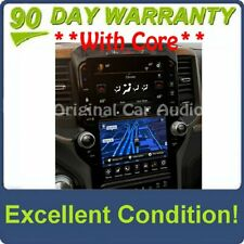 "2019 - 2020 Dodge Ram 1500 OEM Navigation Center Stack 12"" Touch Screen Display"