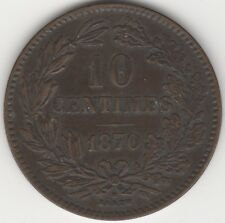 More details for 1870 luxembourg 10 centimes | pennies2pounds (3)