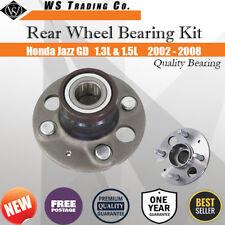 1 New Rear Wheel Bearing Hub For Honda Jazz GD 1.3L 1.5L 2002 - 2008