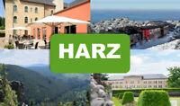 HARZ - toller Kurzurlaub, 4 Tage für 2 Personen im bis zu 4* Hotel nach Wahl!