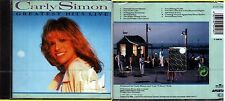 SIMON CARLY GREATEST HITS LIVE CD SEALED