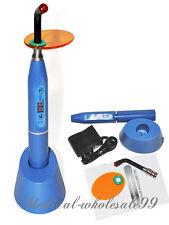 blue Nuevo inalámbrico wireless que cura la luz la lámpara Dental Curing Light