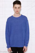 Cheap Monday Mickey Blue Sweatshirt UK L Was £80 Brand New Sale