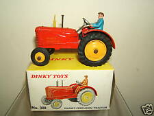 DINKY TOYS MODEL  No.300 MASSEY FERGUSON (RUBBER TYRES )    MIB