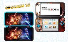 STAR WARS 7 - vinyl Skin Aufkleber für Nintendo NEW 2DS XL - réf 204