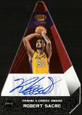 2012-13 PREFERRED ROBERT SACRE #518 CHOICE AWARD AUTO #20/99 LAKERS CHIPPING