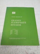 GRADE 6 INTERMEDIATE GRADED PIANOFORTE STUDIES ABRSM