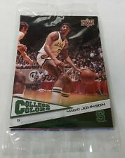 2010 Upper Deck College Colors Sealed Pack Featuring Magic Johnson