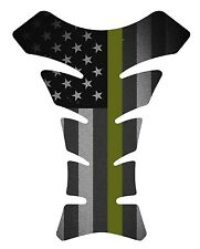 Fallen Military Army  Black Flag Motorcycle Gas 3D tank pad tankpad protector