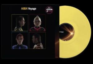 ABBA - VOYAGE - LP VINYL YELLOW JAUNE COLOURED LIMITED EDITION