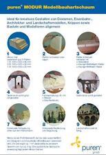 Puren 140022 Modur-Hartschaum-Platten für Felsen und Gelände Neu / OVP