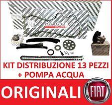 KIT DISTRIBUZIONE + POMPA ACQUA ORIGINALI FIAT 500 - 500L -  500X 1.3 MULTIJET
