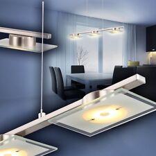 Design LED Pendelleuchte Chrom Hängeleuchte Lampe Pendellampe Leuchte Hängelampe