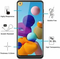 Vitre Protection Écran Film Verre Trempe Samsung Galaxy A21s 2020 6.5 (SM-A217F)