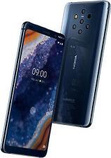 """NUOVO-Nokia 9 PureView TA-1082 RAM 128GB 6GB 5.99"""" - BLU NOTTE-Sbloccato"""
