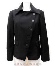Veste ZARA WOMAN T 40 L 3 Noir Chaude 94% Laine Fête TBE Blazer Jacket Chaqueta