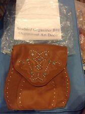 Studded Organizer Bag By Avon