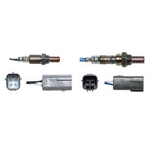 Denso Air Fuel Ratio Sensor 2pcs Up & Downstream For 2009-2011 Mazda RX-8 1.3L