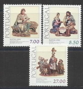 Portugal 1981 - Christmas set MNH