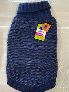 Blue reflective Sweater Large