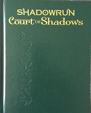 Limited Edition Shadowrun 5th Ed Court of Shadows HC Catalyst Ltd - New