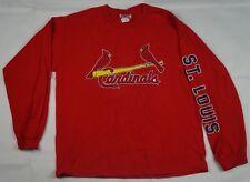 Rare VTG CSA St. Louis STL Cardinals MLB Baseball LS T Shirt 90s Kids Size 14-16