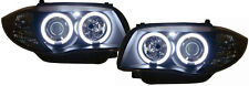 black finish headlights with CCFL angel eyes for BMW 1 Series E81 E87 04-11