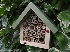 Bug House - Insect Hotel - Bug Box -- For bees, ladybirds... --- Handmade In UK!