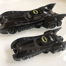 "BATMAN Batmobile 5"" & 3.5"" Diecast ERTL DC Comics 1989 Batman Movie Toy Cars"