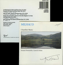 MILHAUD  chamber music  SONANT ENSEMBLE - GARET HULSE