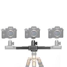 Riel de deslizamiento retráctil de 2 vías con riel deslizante para mini cámara