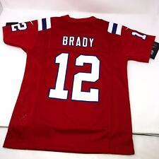 Nike Tom Brady New England Patriots Throwback Jersey Youth Kids Size Large