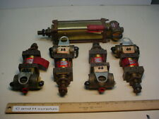 Schrader Bellows Lot of 5 cylinders with built-in valve