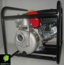 Motopompa a benzina a scoppio 4 tempi pompa autoadescante HP 5,5 raccordi DN 50