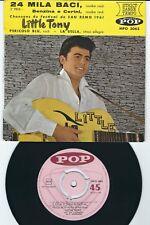 Rocker - Little Tony POP MPO 3063 24 mila baci / Benzina e Cerini / + 2 ♫