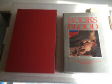 Clive Barker SIGNED True 1st ed! BOOKS OF BLOOD very SCARCE fiine in DW and Case