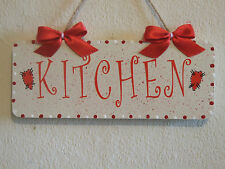 Lovely Decorative Handcrafted Wall Plaque Door/Room Sign KITCHEN