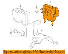 GM OEM ABS Anti-lock Brakes-Modulator Valve 25794479