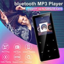 bluetooth MP3 Music Player MP4 Media Hi-Fi Lossless FM Radio Recorder Speaker US