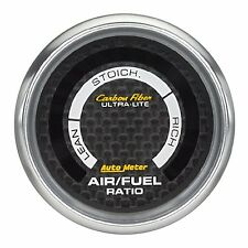 AutoMeter Carbon Fiber Ultra-Lite Digital Air/Fuel Ratio Gauge* 4775 *
