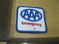 FLAWED AAA EMERGENCY EMPLOYEE MEDICAL VINTAGE PATCH BADGE SEW OR IRON ON CP