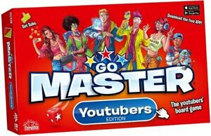 Ideal GO MASTERS Board GAME YouTubers Edition