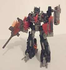 Transformers Dark of the Moon DOTM Voyager Fireburst Optimus Prime used